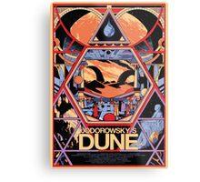Jodorowsky's Dune Metal Print