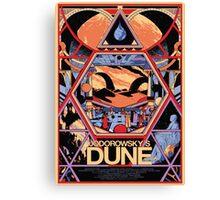 Jodorowsky's Dune Canvas Print