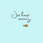What do we do? We swim, swim. by silvermirror