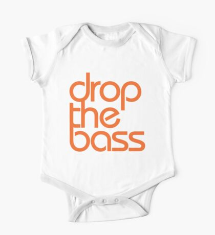 Drop The Bass (orange) One Piece - Short Sleeve