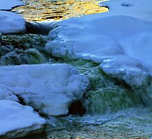 Abstract River Ice by Nazareth