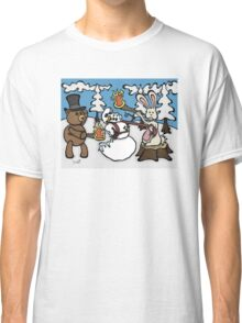 Teddy Bear and Bunny - The Mugging Classic T-Shirt