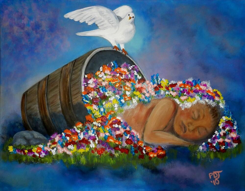 GOD PLANTED A GARDEN EASTWARD IN EDEN by Pamorama