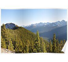 Sulphur Mountain above Banff Poster