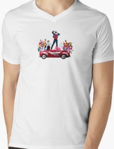 Grease is the Word Mens V-Neck T-Shirt