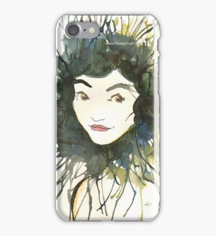 paint girl iPhone Case/Skin
