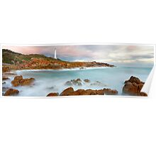 Point Hicks Lighthouse, Croajingolong National Park, Victoria, Australia Poster