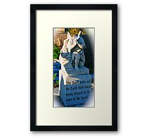 Headless Wonder 1 Framed Print