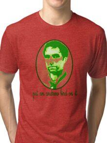 Put An Andrew Bird On It Tri-blend T-Shirt