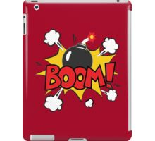 COMIC BOOK: BOOM BOMB! iPad Case/Skin