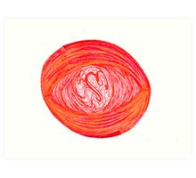 Swirling Madness Art Print