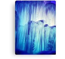 Icicle Blues Canvas Print