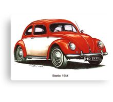 1954 Volkswagen Beetle Canvas Print