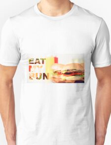Classic Hamburgers with typography  T-Shirt
