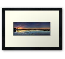 Seeking Inner Peace Framed Print