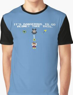 It's Dangerous in Kingdom Hearts Graphic T-Shirt