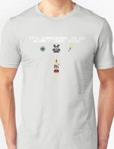 It's Dangerous in Kingdom Hearts Unisex T-Shirt