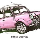 Moris Mini Cooper Car by mrclassic