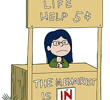 LIFE HELP 5¢ by munchiemoon