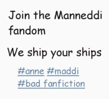 The Manneddi Fandom by fireburnma