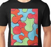 Abstract Art Design, Colours Colors Colour Spectrum Spectral Color Puzzle By Chris McCabe - DRAGAN GRAFIX Unisex T-Shirt