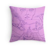stregth within Throw Pillow