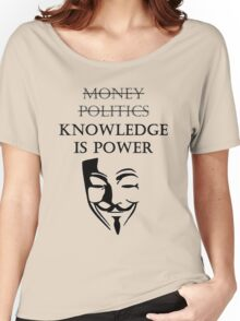 Knowledge is power Women's Relaxed Fit T-Shirt