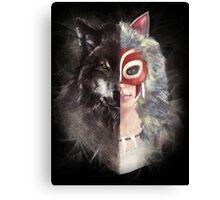 Bring Down the Wolf's Head Canvas Print
