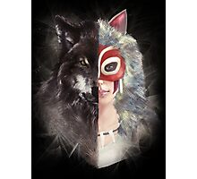 Bring Down the Wolf's Head Photographic Print