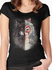 Bring Down the Wolf's Head Women's Fitted Scoop T-Shirt