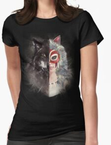 Bring Down the Wolf's Head Womens Fitted T-Shirt