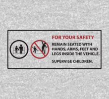 For Your Safety - No Dancing Warning  Kids Clothes