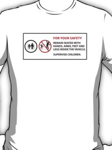 For Your Safety - No Dancing Warning  T-Shirt