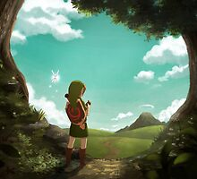 [The Legend of Zelda: Ocarina of Time] The Outset of a Journey by kiiroikat