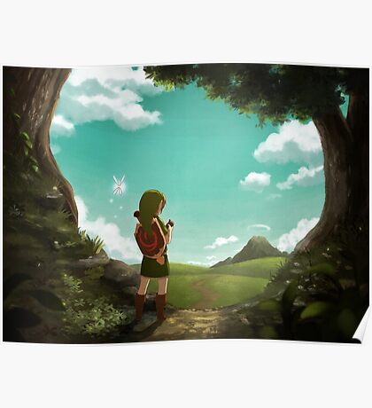 [The Legend of Zelda: Ocarina of Time] The Outset of a Journey Poster