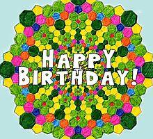 Birthday card-pattern by ChrisNeal