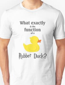 Function of a Rubber Duck T-Shirt