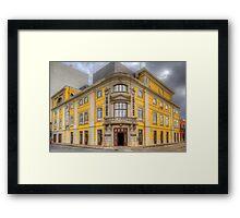 Municipal Theatre Framed Print