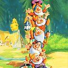 Seven dwarfs by Kanae