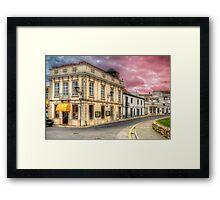 Rua Da Barbaca Framed Print