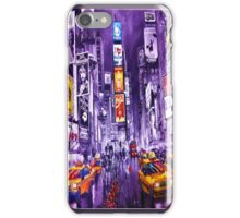 Broadway Painting iPhone Case/Skin