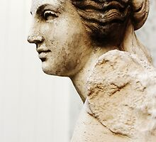 Profile of Statue  by Jeanette Varcoe.