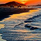 Yellow Patch sunset (Moreton Island, Australia) by kmatm