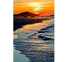 Yellow Patch sunset (Moreton Island, Australia) Photographic Print