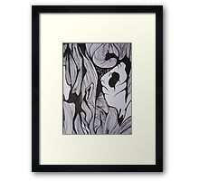 Close up of tree Framed Print