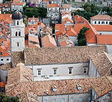 Franciscan Monastery in Dubrovnik by Artur Bogacki