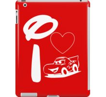 I Heart Cars Land (Inverted) iPad Case/Skin