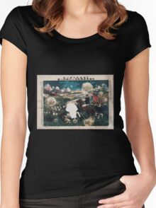 Great victory for the daring Awaya regimental commander at the time of the general offensive against Tʻien chin China 001 Women's Fitted Scoop T-Shirt