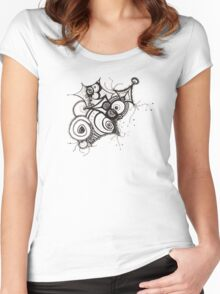 D110507 Women's Fitted Scoop T-Shirt