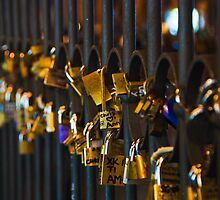 Love Padlocks by CPProPhoto